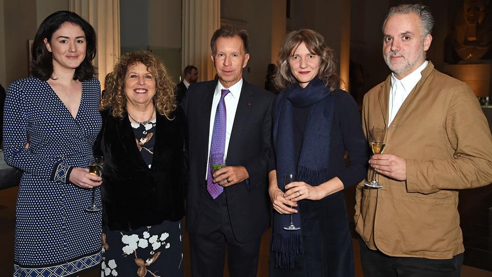 Charlotte Paton, Elyse Dodgson, John Studzinski, Polly Staple & Hadrian Garrard