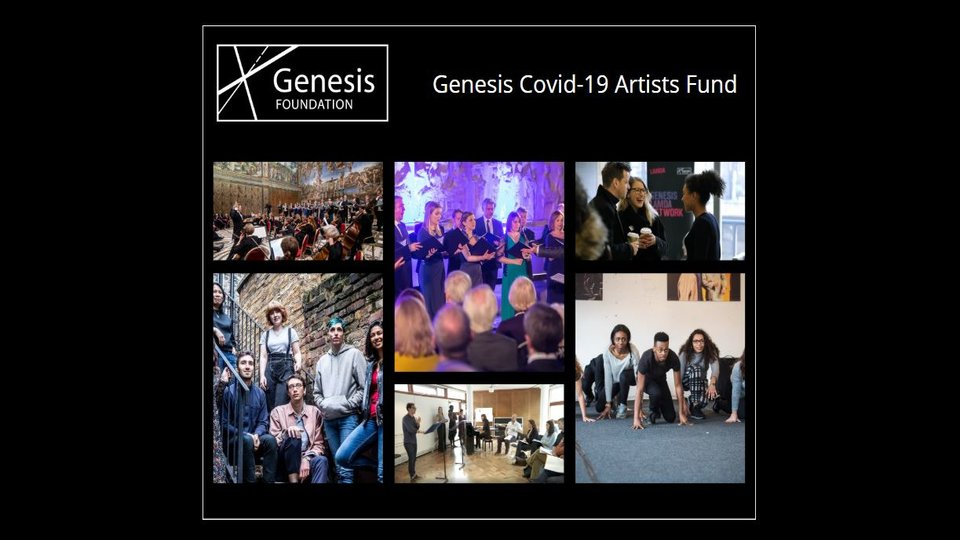 John Studzinski launches the Genesis Covid-19 Artists Fund
