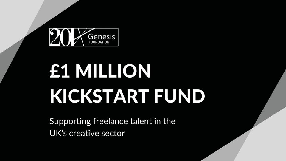 Genesis Foundation launches new £1 million kickstart fund for UK freelancers