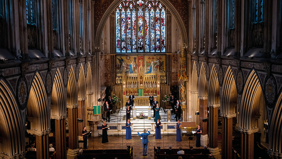 View gallery of our Newman: Meditation and Prayer concert (Available on demand - link on page)